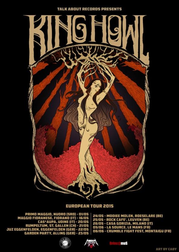 Tour Poster by Elena Cabitza